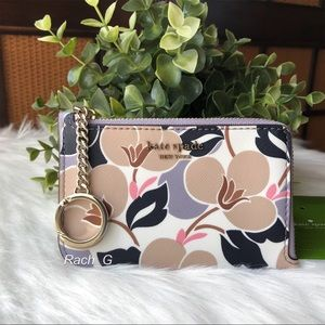 Kate Spade Cameron l-zip Card Holder